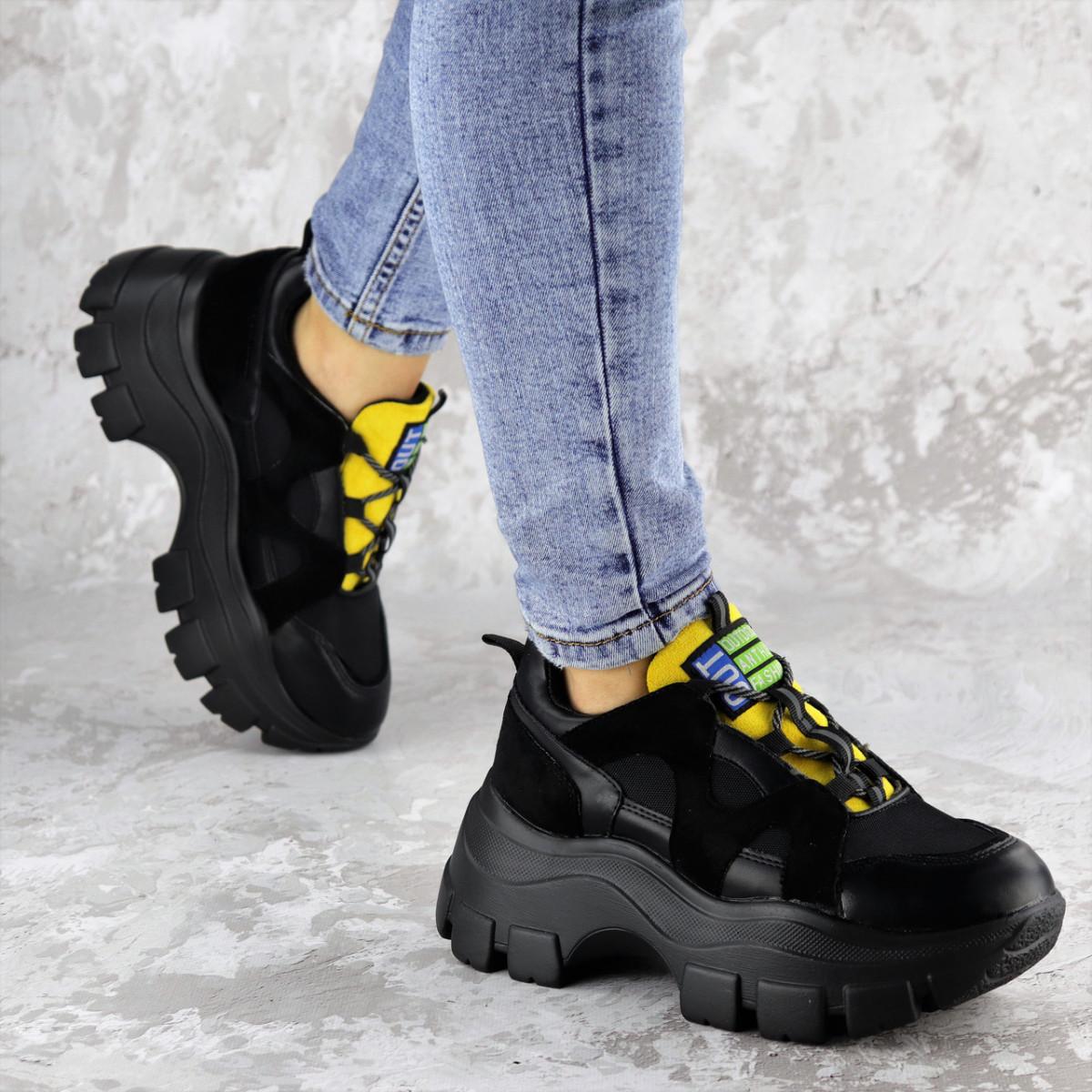 Кроссовки женские черные Chatter 2192 (38 размер)