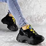 Кроссовки женские черные Chatter 2192 (38 размер), фото 3