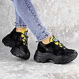 Кроссовки женские черные Chatter 2192 (38 размер), фото 7