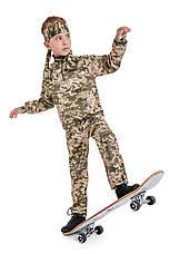 Костюм детский камуфляжный для мальчиков Зарница цвет Пиксель, фото 2