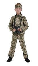 Костюм детский камуфляжный для мальчиков Зарница цвет Пиксель, фото 3