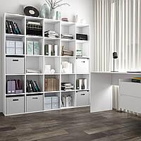 Стеллаж для дома, полка для книг и игрушек, разделитель комнаты на 25 ячеек, книжный шкаф S-16