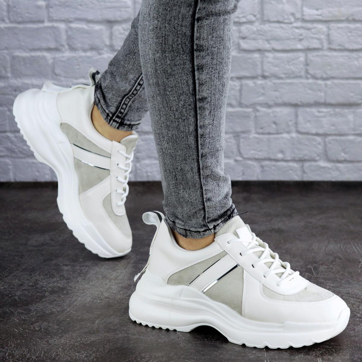 Женские кроссовки белые Peanut 2024 (36 размер)