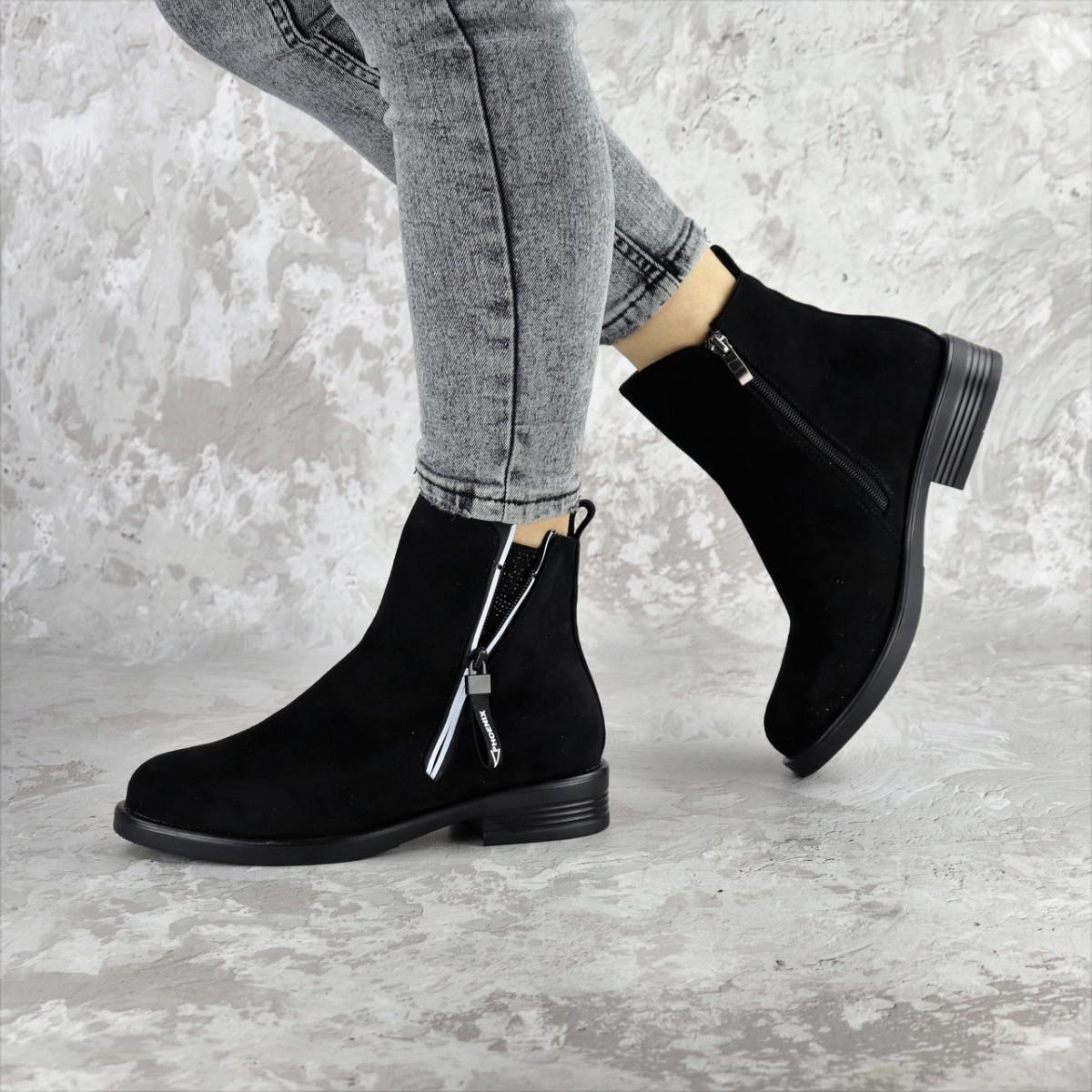 Ботинки женские черные Mortimer 2375 (36 размер)