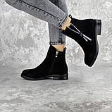 Ботинки женские черные Mortimer 2375 (36 размер), фото 2