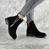 Ботинки женские черные Mortimer 2375 (36 размер), фото 3