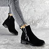 Ботинки женские черные Mortimer 2375 (36 размер), фото 4