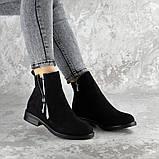 Ботинки женские черные Mortimer 2375 (36 размер), фото 5