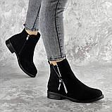 Ботинки женские черные Mortimer 2375 (36 размер), фото 6
