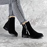 Ботинки женские черные Mortimer 2375 (36 размер), фото 7