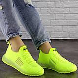 Женские кроссовки салатовые Neon 1473 (39 размер), фото 3