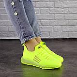 Женские кроссовки салатовые Neon 1473 (39 размер), фото 6