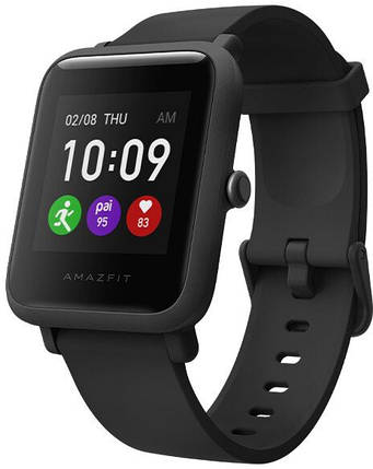 Часы Smart watch Xiaomi Amazfit Bip S Lite Black UA UCRF Гарантия 12 месяцев, фото 2