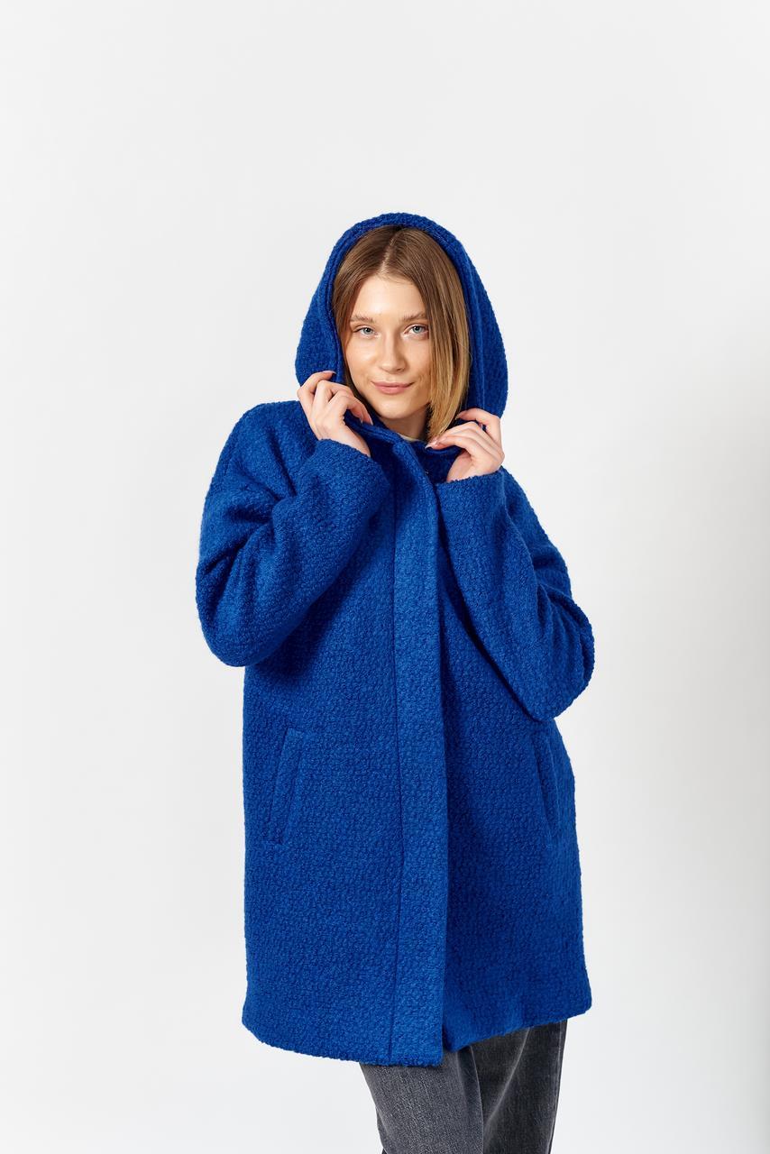 Пальто женское MOODO Z-KU-3005 ULTRAMARINE