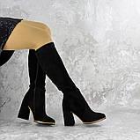 Сапоги женские черные Rugbe 2168 (38 размер), фото 2