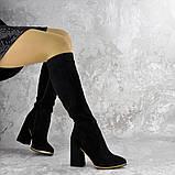 Сапоги женские черные Rugbe 2168 (38 размер), фото 3