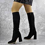 Сапоги женские черные Rugbe 2168 (38 размер), фото 4