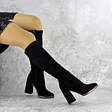 Сапоги женские черные Rugbe 2168 (38 размер), фото 5