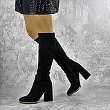 Сапоги женские черные Rugbe 2168 (38 размер), фото 9