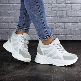 Сникерсы женские белые Atlas 2102 (38 размер)