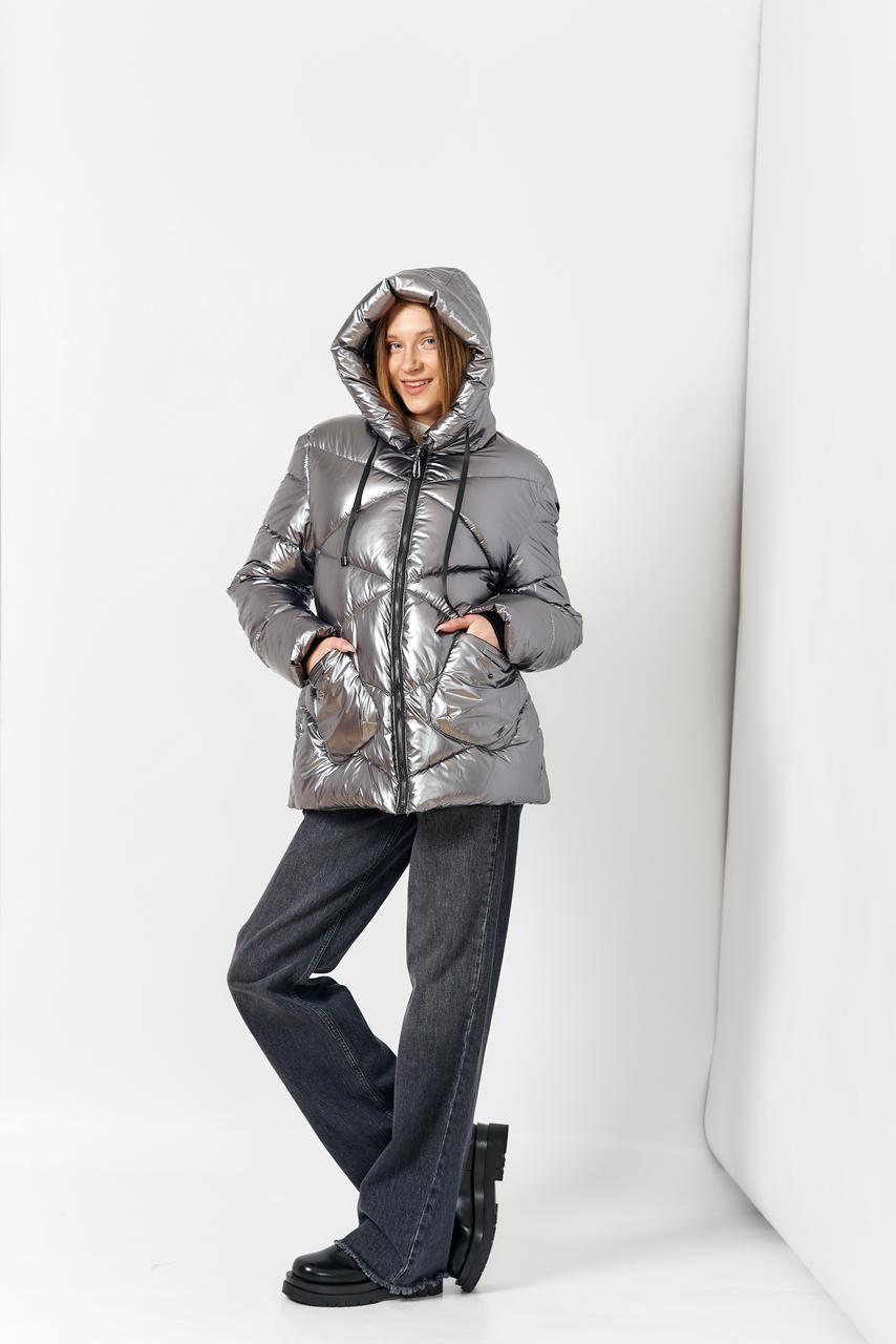 Куртка женская YANUFEIZI 9008 SILVER