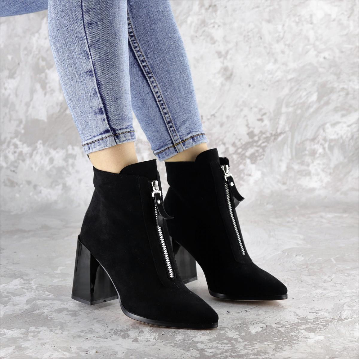 Ботинки женские черные Springer 2404 (36 размер)