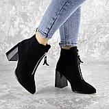 Ботинки женские черные Springer 2404 (36 размер), фото 2