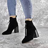 Ботинки женские черные Springer 2404 (36 размер), фото 3