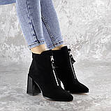 Ботинки женские черные Springer 2404 (36 размер), фото 4