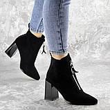 Ботинки женские черные Springer 2404 (36 размер), фото 5