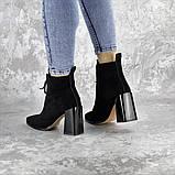 Ботинки женские черные Springer 2404 (36 размер), фото 8