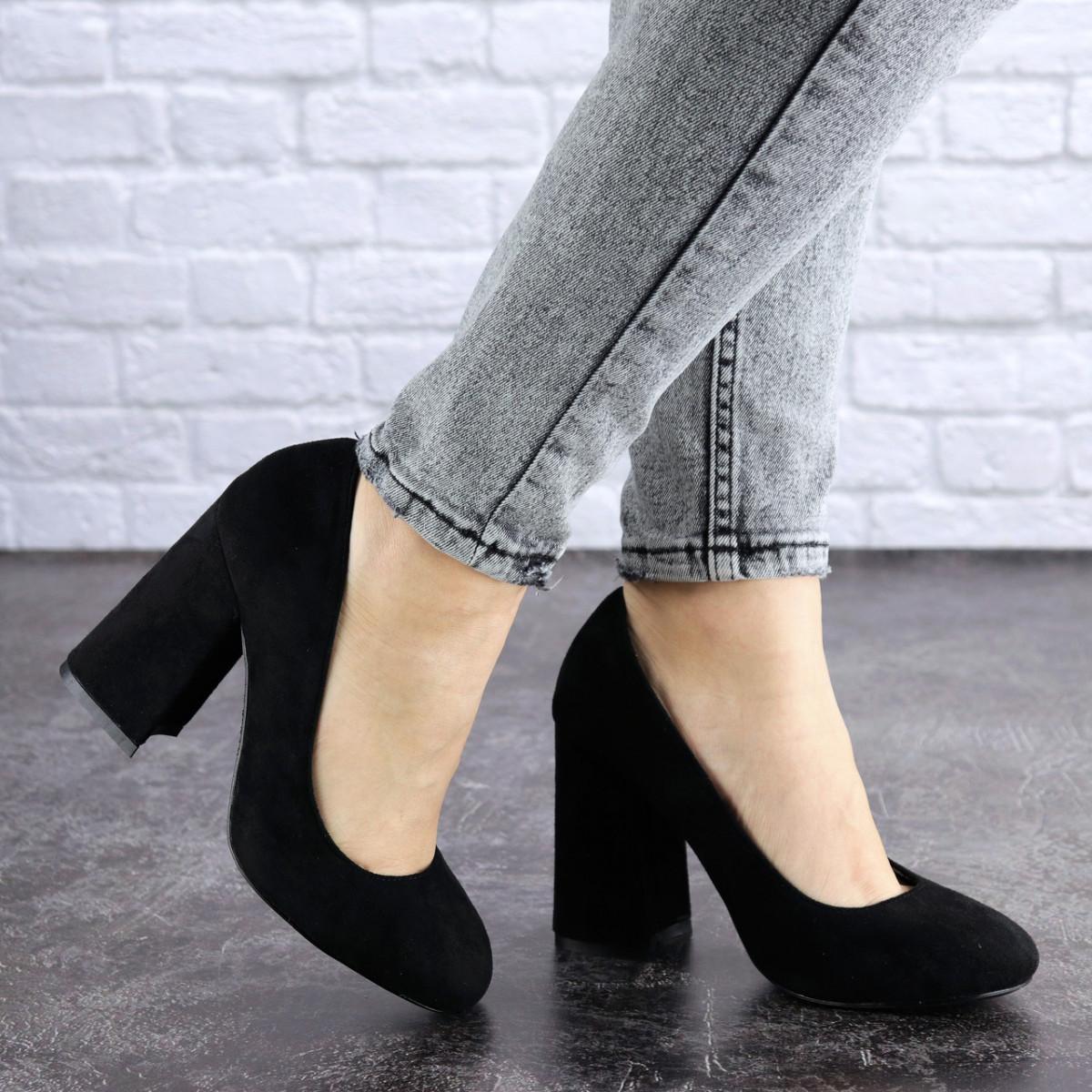 Туфли женские Vanilla черные 1345 (36 размер)