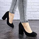 Туфли женские Vanilla черные 1345 (36 размер), фото 2