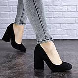 Туфли женские Vanilla черные 1345 (36 размер), фото 3