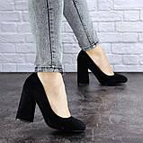 Туфли женские Vanilla черные 1345 (36 размер), фото 4