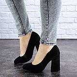 Туфли женские Vanilla черные 1345 (36 размер), фото 5
