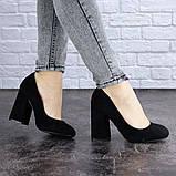 Туфли женские Vanilla черные 1345 (36 размер), фото 6