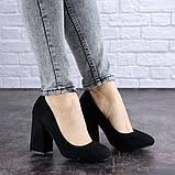 Туфли женские Vanilla черные 1345 (36 размер), фото 7