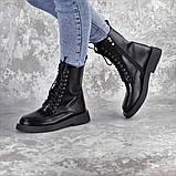 Ботинки женские черные Tootsie 2409 (36 размер), фото 5
