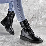 Ботинки женские черные Tootsie 2409 (36 размер), фото 6