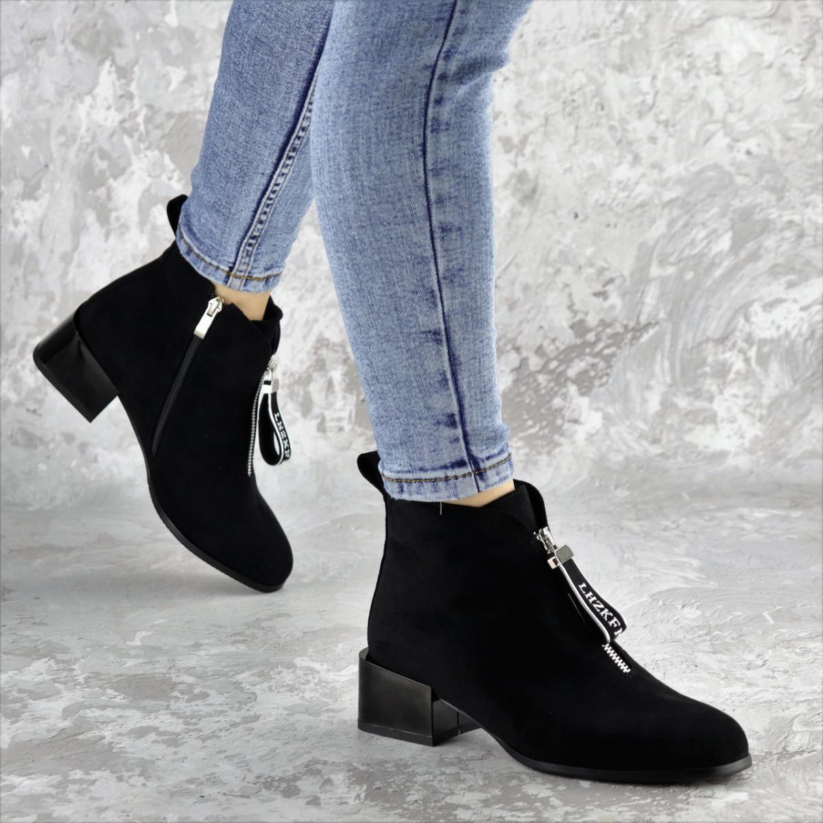 Ботинки женские черные Vulcan 2422 (36 размер)