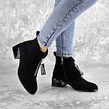 Ботинки женские черные Vulcan 2422 (36 размер), фото 2