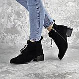 Ботинки женские черные Vulcan 2422 (36 размер), фото 3