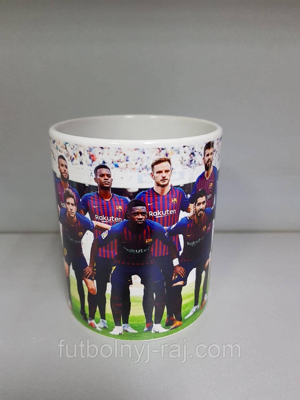 Чашка чайная FC Barcelona