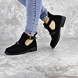 Ботиночки женские черные Jean 1261 (36 размер), фото 5