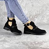 Ботиночки женские черные Jean 1261 (36 размер), фото 6