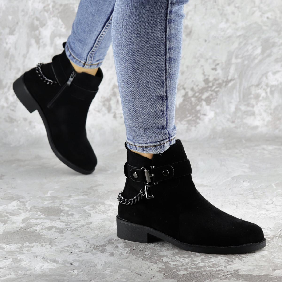 Ботиночки женские черные Lade 1396 (36 размер)