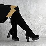 Ботфорты женские черные Brier 2335 (36 размер), фото 3
