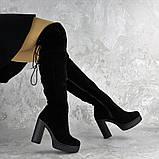 Ботфорты женские черные Brier 2335 (36 размер), фото 4