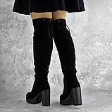 Ботфорты женские черные Brier 2335 (36 размер), фото 5